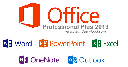 دانلود Microsoft Office Pro Plus 2013 SP1 v15.0.4953.1000 + v15.0.4945.1000 July 2017 + 2010 SP2 v14.0.7179.5002 + 2007 SP3 Build v12.0.6607.1000 Volume + 2003 SP3 - نرم افزار مایکروسافت آفیس
