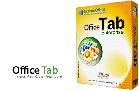 دانلود Office Tab Enterprise v10.50 - نرم افزار اضافه کردن تب به مجموعه نرم افزار آفیس