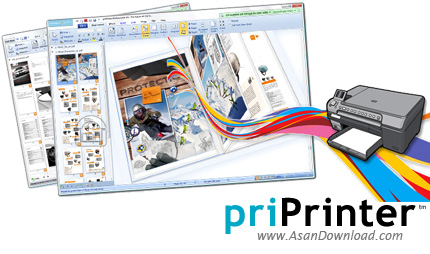 دانلود priPrinter Professional v6.4.0.2446 + Server v6.4.0.2430 - نرم افزار پرینتر مجازی