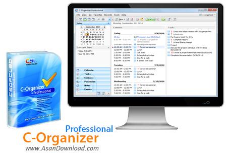 دانلود C-Organizer Pro v6.2.2 - نرم افزار سازماندهی و برنامه ریزی امور شخصی