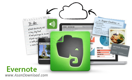 دانلود Evernote v6.15.3.7881 - نرم افزار نوشتن یادداشت اورنوت
