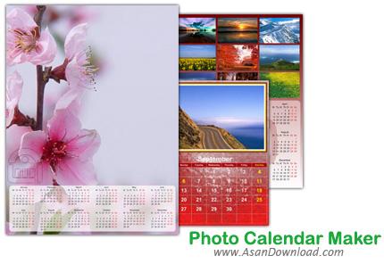 دانلود Photo Calendar Maker v2.65 - نرم افزار ساخت تقویم