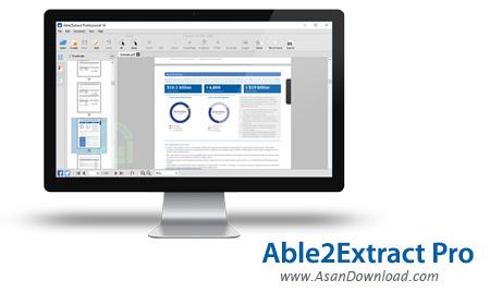 دانلود Able2Extract Pro v14.0.7.0 - نرم افزار مبدل اسناد اداری
