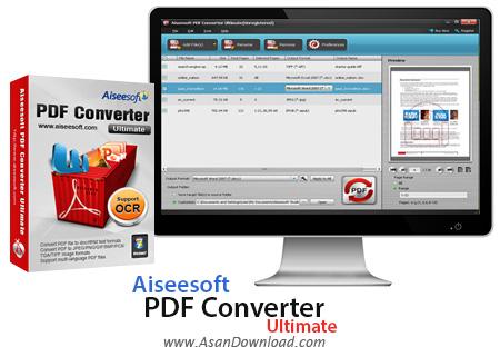 دانلود Aiseesoft PDF Converter Ultimate v3.2.8 - مبدل فرمت PDF