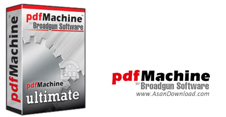 دانلود Broadgun pdfMachine Ultimate v14.78 - نرم افزار ویرایش و ساخت پی دی اف