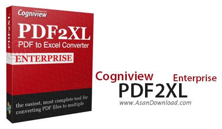 دانلود Cogniview PDF2XL Enterprise v6.0.2.309 - نرم افزار تبدیل PDF به اکسل