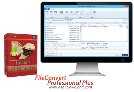 دانلود FileConvert Professional Plus v8.0.0.36 - نرم افزار مبدل فرمت PDF
