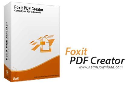 دانلود Foxit PDF Creator v3.1.0.1210 - نرم افزار ساخت سند PDF