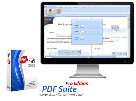 دانلود PDF Suite Professional Edition 2010 - نرم افزار قدرتمند مدیریت اسناد PDF
