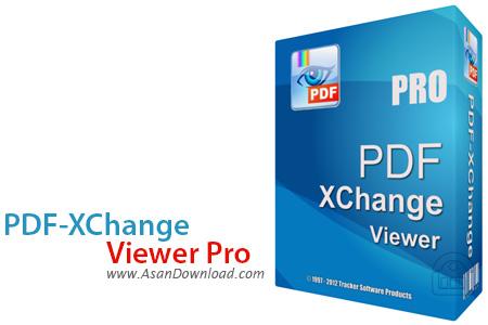 دانلود PDF-XChange Viewer Pro v2.5.322.3 - نرم افزار مشاهده اسناد پی دی اف