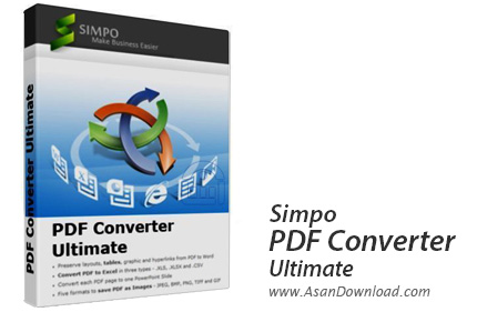 دانلود Simpo PDF Converter Ultimate v1.5.3.0 - تبدیل اسناد PDF
