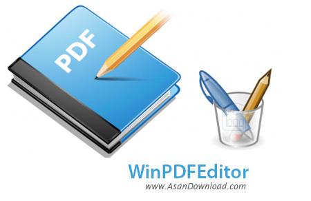 دانلود WinPDFEditor v2.2.0 - نرم افزار ویرایش اسناد PDF