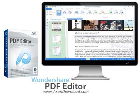 دانلود Wondershare PDF Editor v3.9.3.3 + Plug-in OCR - نرم افزار ویرایش اسناد PDF