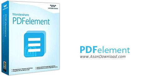 دانلود Wondershare PDFelement v5.12.1.1603 + OCR Plugin v5.8.0.7 - نرم افزار ویرایش فایل های پی دی اف