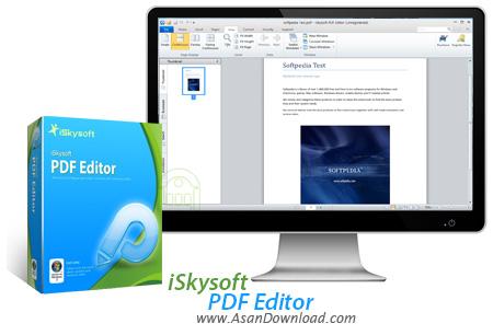 دانلود iSkysoft PDF Editor + OCR Plugin v4.0.0.3 - نرم افزار ویرایش اسناد PDF