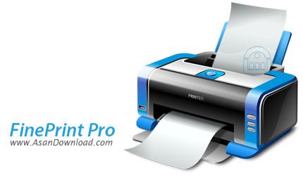 دانلود FinePrint v8.28 Workstation / Server Edition - نرم افزار چاپ دو رویه اسناد