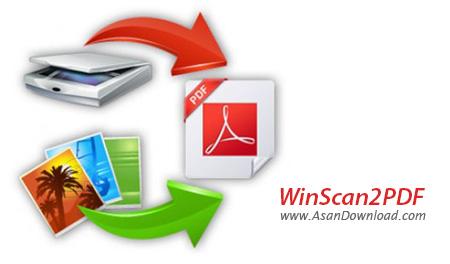 دانلود WinScan2PDF v4.31 - نرم افزار تبدیل فایل اسکن شده به PDF