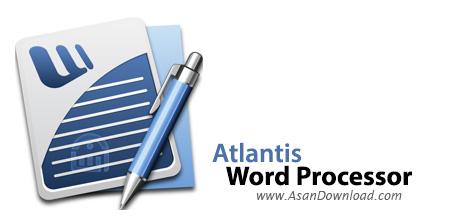 دانلود Atlantis Word Processor v3.3.3.1 - نرم افزار ویرایش اسناد متنی
