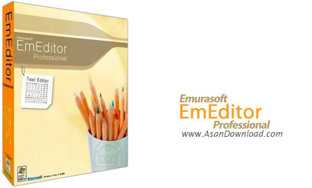 دانلود EmEditor Professional v15.8.3 x86/x64 - نرم افزار ویرایشگر حرفه ای متن