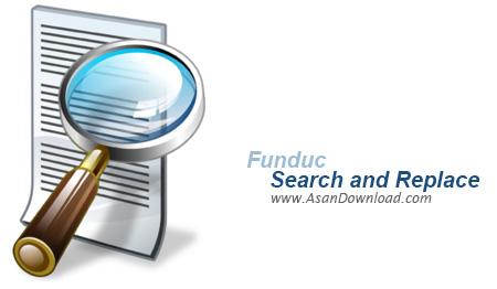 دانلود Funduc Search and Replace v6.7 - نرم افزار جستجو و جایگزینی سريع فايل ها