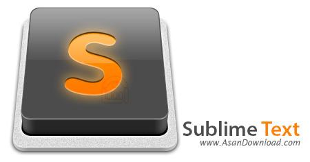 دانلود Sublime Text v3.0.0.3126 x86/x64 - نرم افزار ویرایش متون برنامه نویسی