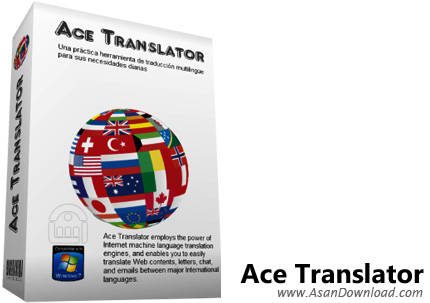 دانلود Ace Translator v16.3.0.1630 - نرم افزار مترجم آنلاین متن