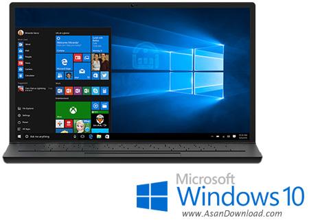 دانلود Microsoft  Windows 10 Pro + Home + Enterprise + All In One + RedStone 3 v1709 January 2018 - ویندوز ۱۰ نسخه نهایی و رسمی مایکروسافت