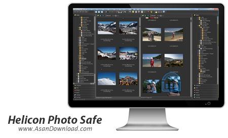 دانلود Helicon Photo Safe v4.50 - نرم افزار محافظت از عکس ها