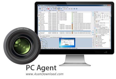 دانلود PC Agent v7.12.0.0 - نرم افزار ثبت تمام فعالیت ها در ویندوز