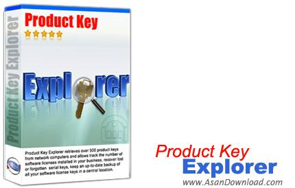 دانلود Nsasoft Product Key Explorer v4.0.8.0 - نرم افزار دستیابی به شماره سریال نرم افزارهای نصب شده