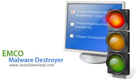 دانلود EMCO Malware Destroyer v8.2.25.1162 - نرم افزار مقابله با بدافزارها
