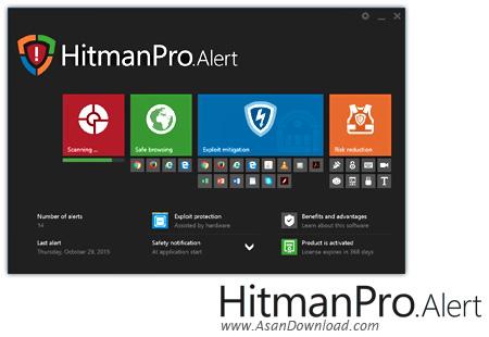 دانلود HitmanPro.Alert v3.8.0 Build 849 CTP2 - نرم افزار مراقبت از مرورگر در مقابل سرقت اطلاعات