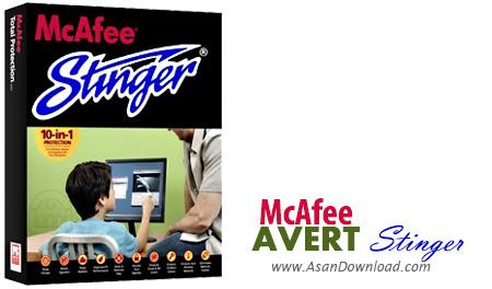 دانلود McAfee AVERT Stinger v12.1.0.2822 - نرم افزار شناسایی و پاک سازی ویروس و کرم ها