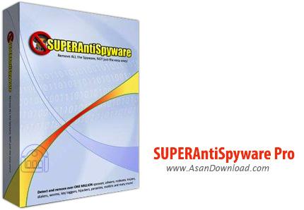 دانلود SUPERAntiSpyware Pro v6.0.1260 - نرم افزار پاک سازی برنامه های جاسوسی