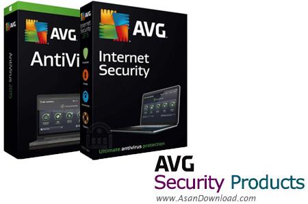 دانلود AVG AntiVirus Free + AntiVirus Pro + Internet Security v18.5.3059 Build 18.5.3931 - نرم افزارهای امنیتی شرکت ای وی جی