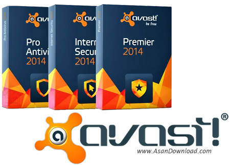 دانلود Avast! Internet Security / Antivirus Pro / Premiere / Rescue CD 2015 v10.0.2206.692 - مجموعه امنیتی شرکت اواست