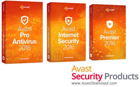 دانلود Avast Free Antivirus + Pro Antivirus + Internet Security + Premier 2017 v17.8.2318  - نرم افزارهای امنیتی شرکت اوست