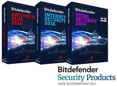 دانلود Bitdefender Antivirus Plus + Internet Security + Total Security 2020 v24.0.14.80 - نرم افزارهای امنیتی شرکت بیت دیفندر