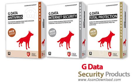 دانلود G Data AntiVirus + Internet Security + Total Protection 2015 v25.1.0.2 - نرم افزارهای امنیتی شرکت جی دیتا