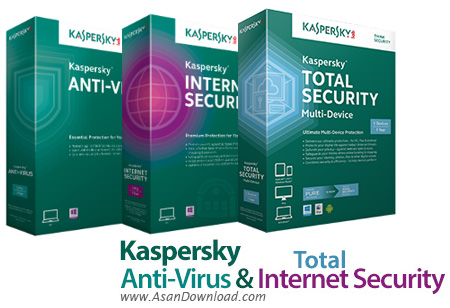 دانلود Kaspersky Anti-Virus + Internet Security + Kaspersky Total Security 2017 v17.0.0.611.0.191.0 + 2017 v17.0.0.611.0.815.0 Farsi + 2018 - آنتی ویروس و اینترنت سکوریتی و توتال سکوریتی کسپرسکی