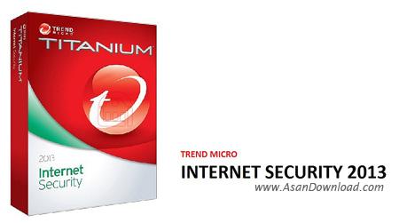 دانلود Trend Micro Internet Security Pro 2013 - نرم افزار برقراری امنیتی پایدار