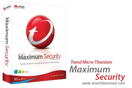دانلود Trend Micro Titanium Maximum Security 2012 - برقرار امنیتی پایدار