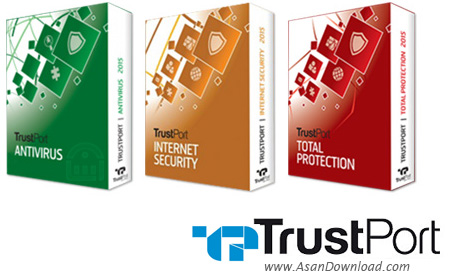 دانلود TrustPort Total Protection + Antivirus + Internet Security + Total Security 2017 v17.0.2.7025 - نرم افزارهای امنیتی تراست پورت