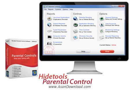 دانلود Hidetools Parental Control v8.1.2.270 - نرم افزار کنترل عملکرد کودکان