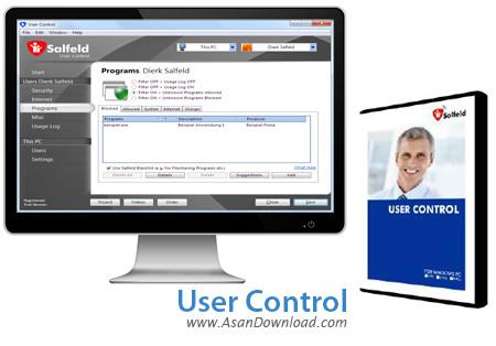 دانلود User Control v15.676 - نرم افزار کنترل کاربران در ویندوز