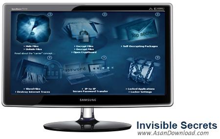 دانلود Invisible Secrets v4.6.2 - نرم افزار حفاظت از اطلاعات محرمانه