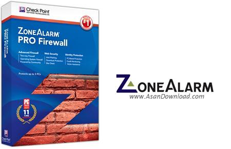دانلود ZoneAlarm Pro Firewall v10.2.057 - نرم افزار دیوار آتش زون آلارم