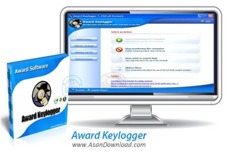 دانلود Award Keylogger v3.0 - نرم افزار ثبت تمامی عملکردهای کاربران
