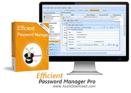 دانلود Efficient Password Manager Pro v5.50 Build 542 - نرم افزار مدیریت پسوردها