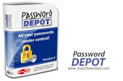 دانلود Password Depot Pro v7.5.9.0 - نرم افزار مدیریت پسورد ها